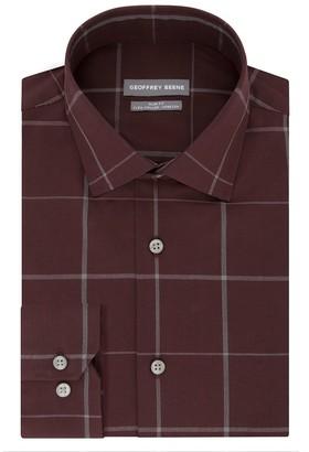 Geoffrey Beene Men's Slim-Fit Stretch Flex Spread-Collar Dress Shirt