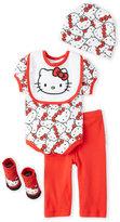 Hello Kitty Newborn Girls) 5-Piece Gift Set