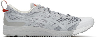 AFFIX Grey and White Asics Edition Gel-Noosa Tri 12 Sneakers