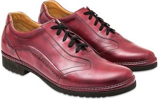 Pakerson Burgundy Pienza Derby Shoe