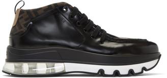 Fendi Black Forever Hybrid Hiker Boots