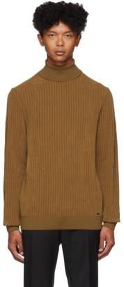 HUGO Brown Slusson Sweater
