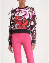 Emilio Pucci Floral-print jersey sweatshirt
