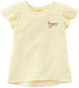 Carter's Short Sleeve Round Neck T-Shirt-Preschool Girls