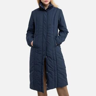 Anne Weyburn Long Padded Showerproof Coat