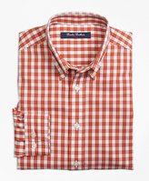 Brooks Brothers Non-Iron Windowpane Sport Shirt