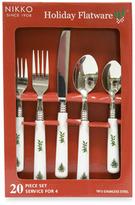 Nikko Christmastime 20-Piece Flatware Set