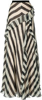 Alberta Ferretti striped skirt