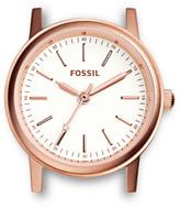 Fossil Rowen Three-Hand Rose Stainless Steel Watch Case