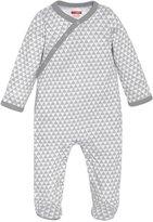 Skip Hop Petite Triangles Footie (Baby) - Grey-3-6 Months
