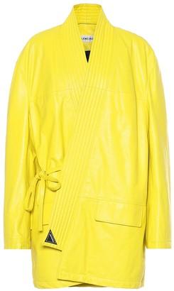 Balenciaga Leather coat