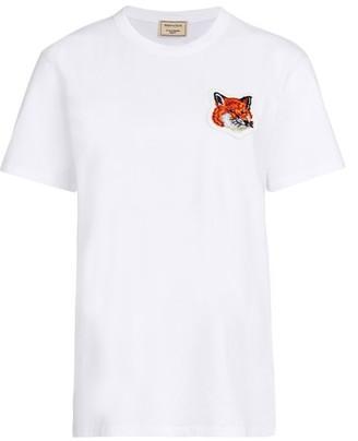 MAISON KITSUNÉ Fox Head t-shirt