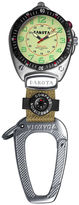 Dakota Big Face Carabiner Clip Watch, Cream