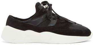 Essentials SSENSE Exclusive Black Backless Sneakers