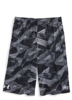 Under Armour Boy's Sc30 Essentials Print Shorts