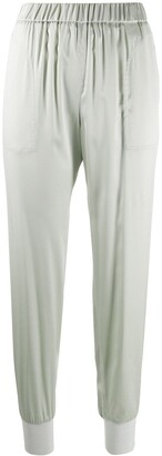 Fabiana Filippi Satin Track Pants