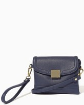 Charming charlie Hinged Lock Mini Crossbody Bag