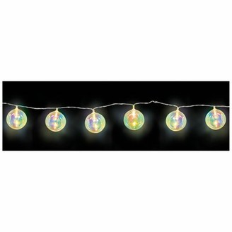 Amscan Iridescent LED 69 ft. 10-Light Globe String Light