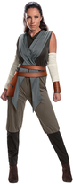Rubie's Costume Co Star Wars The Last Jedi Rey Costume Set - Adult