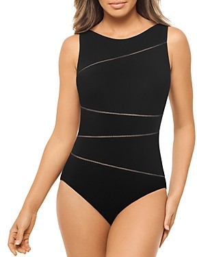 Amoressa by Miraclesuit Bamboo Skyline One Piece Swimsuit