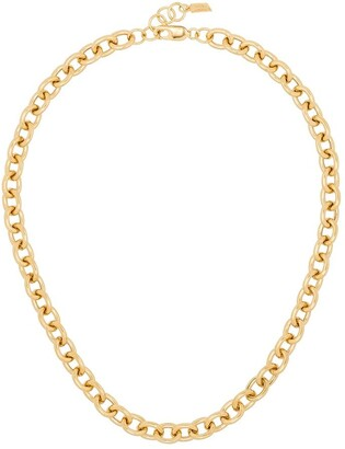Loren Stewart Gold-Tone Sterling Silver Necklace