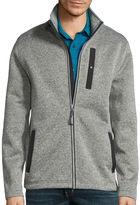 ST. JOHN'S BAY St. John's Bay Long-Sleeve Terra Tek Full-Zip Sweater Fleece