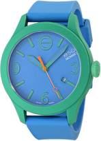 ESQ by Movado Women's 42mm Blue Silicone Band & Case Quartz Analog Watch 07101456