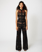 Nicole Miller Lace Trims Jumpsuit