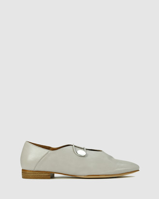 EOS Women's Grey Ballet Flats - Corrie - Size One Size, 38 at The Iconic