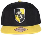 Bioworld Men's Licensed Harry Potter Hufflepuff Crest Snapback Hat O/S