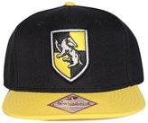 Bioworld Men's Licensed Harry Potter Hufflepuff Crest Snapback Hat O/S
