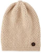 Inverni Cashmere Slouchy Hat w/Button