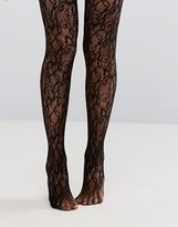 Gipsy Flower Lace Look Tights