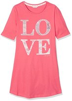 Esprit Bodywear Girl's 017EF5Y009 Nightie, Red (Coral)