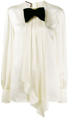 Gucci bow-embellished blouse