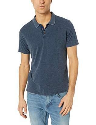 Lucky Brand Men's Venice Burnout Pique Polo Shirt