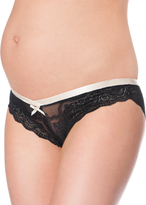 A Pea in the Pod Elle Macpherson Intimates Lace Collection Lace Maternity Bikini Panties (Single)