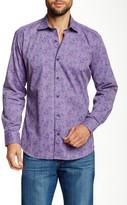 Jared Lang Floral Print Semi-Fitted Shirt