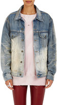 "Faith Connexion Women's ""Dirty Wash"" Ombré Denim Jacket"