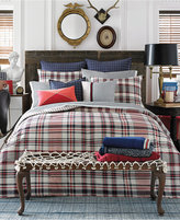 Tommy Hilfiger Vintage Plaid Twin Duvet Cover Set