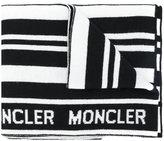 Moncler striped scarf - men - Virgin Wool - One Size