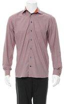 Eton Plaid Button-Up Shirt