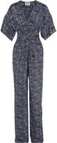 Issa Arica printed silk jumpsuit
