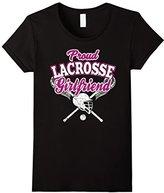LaCrosse Women's Girlfriend Shirt: Proud Girl Of Player T-Shirt--