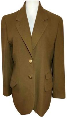 Bogner Camel Wool Jacket for Women Vintage