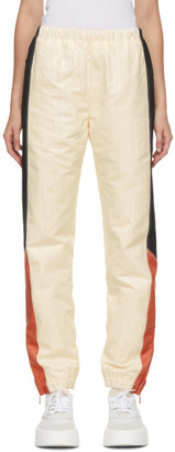 Marine Serre Off-White Moire Lounge Pants