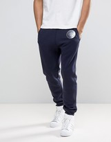 Love Moschino Slim Fit Joggers With Clear Moschino Badge