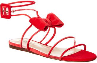 Valentino Dollybow Velvet Sandal