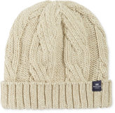 Nautica Men's Cuffed Cable-Knit Beanie