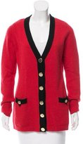 Milly Button-Up Cashmere Cardigan